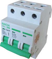 Leitungsschutzschalter GACIA SB6L 3P B20A, Sicherungsautomat MCB