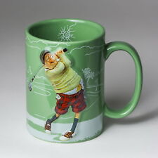 Guillermo Forchino Comic Art Kaffeetasse - The Golfer - Reliefbecher FO83002