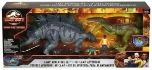 Jurassic World Camp Cretaceous Adventure Set Excl Action Figure 4-Pack Toy Play