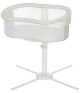 HALO Essentia Next Gen Swivel Sleeper Bassinet Infant Baby Crib Nautical Net NEW