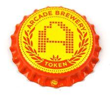 Arcade Brewery.Token Beer Bier Kronkorken USA Soda Bottle Cap