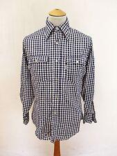 Grunge Cotton Blend Vintage Casual Shirts & Tops for Men