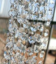 33FT Wedding DIY Crystal Acrylic Bead Garland Hanging Party Decor (6Color) TP