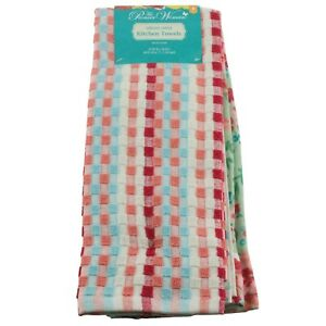 """The Pioneer Woman Gorgeous Garden Floral Kitchen Dish Towels 4 Pack 16"""" x 28"""""""