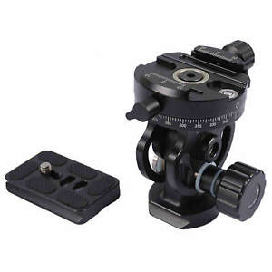 6kg Metal Tripod Monopod Tilt Panoramic Head with Arca Swiss Quick Release Plate