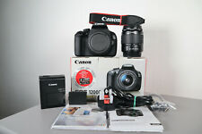 Canon EOS 1200D 18.0MP DSLR Camera (Only 2,055 Shots Taken) w/ 18-55mm III lens