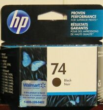 HP 74 Black Ink  New Genuine Sealed Box exp 2015