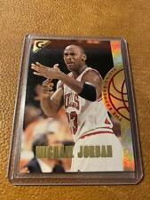 1995-96 Topps Gallery The Expressionists Michael Jordan # EX2 Used