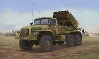 Trumpeter 01014 - 1:35 Russian BM-21 Hail MRL-Late - Neu