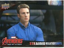 Captain America Civil War Strained Relationships Chase Card SR-9 Avengers: Age
