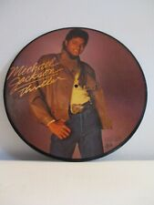 Michael Jackson-Thriller Picture Disc LP -1983 1st Press Vinyl Wall Hanger