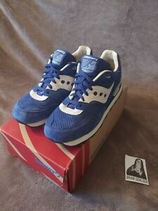 Saucony Courageous Premium Blue Suede Sneaker