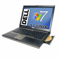 Fast Dell Latitude Laptop CORE 2 DUO New 2GB RAM New80GB HDD WINDOWS7 DVD WIFI