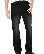 INC Mens Jeans Black Wash Size 34X32 Modern Fit Boot Cut Leg Denim $69 #227