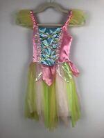 Jerry Beck Girls Rainbow Princess Dress Costume Size  Medium