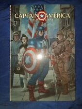 Captain America Red, White & Blue Hardcover Brian Stelfreeze DJ Art HC 2002 NM