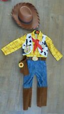Disney Pixar Toy Story Woody Sheriff Cowboy Costume 3-4 years Halloween Cosplay