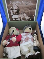 MUFFY VANDERBEAR Puttering Around Alice & Cornelius Golf LE ~ VINTAGE NEW in BOX