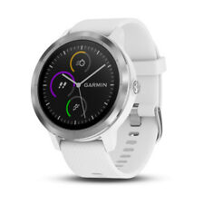 NEW Golf Garmin Vivoactive 3 GPS Watch White with Stainless Hardware