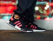Adidas NMD R1 V2 Mens Running Shoes Black Pink FV9153 Size 10