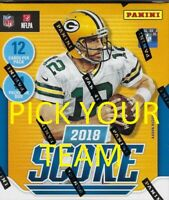 2018 Panini Score Football Card Master Team Sets PICK YOUR TEAM FROM THE LIST
