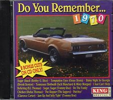 Do You Remember...1970 ~ Pop ~ Rock ~ Oldies ~ CD ~ Used VG