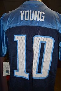 Youth NFL Reebok Tennessee Titans Vince Young Football Jersey NWT S, L, XL