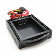 3.5 Dual Drive Bay Mounting Chasis for 2.5 SATA SSD/HDD Disk Drives [008501]
