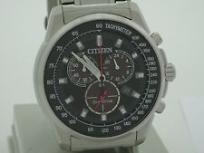 citizen eco drive chronograph watch AT2370-55E