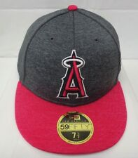 on sale 9ffba 29004 Los Angeles Angels Men s New Era 59FIFTY 7 1 2 Low Profile Cap Hat Pink