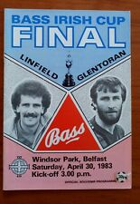 Linfield v Glentoran IFA Cup Final 1983