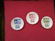 1975 Commemorative Royal Copenhagen Plates Denmark Postal Service (1775-1975)