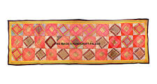 Table Runner Wall Hanging Cotton Patchwork Vintage Tapestry Embroidery Bohemian