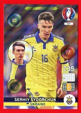 EURO FRANCE 2016 -Adrenalyn Panini- Card n. 437 -SYDORCHUK UKRAINE -One to Watch