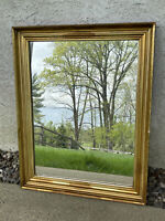 Antique Late 19th C Hudson River Lemon Gold Gilt Frame 22 By 29 Opening