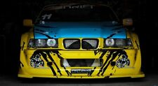 Full Body kit Bodykit Coupe GTR style wide fenders skirts bumper wings arches