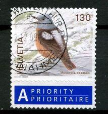 Switzerland 2006-9 SG#1674b 130c Birds Definitive Used + Label #A48996
