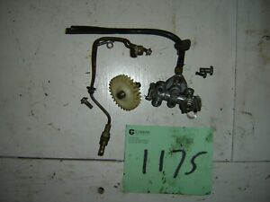 KAWASAKI G4TR G4  100 INJECTOR OIL PUMP AND GEAR  1970 1971 1972 1973