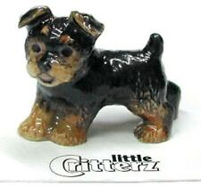 "Little Critterz Miniature Porcelain Animal Yorkshire Terrier Puppy ""Smoky"" LC805"