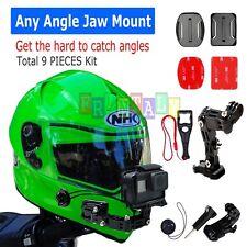 Helmet Front Chin mount & Genuine 3M Sticker for Gopro Hero cameras 6/5/4/3/3+/2