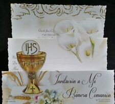 Invitaciones de Primera Comunion (Spanish First Communion Invitations),Favors