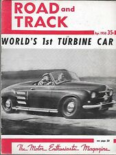 ROAD & TRACK VOL. 2 #6 JANUARY 1951 (FR)
