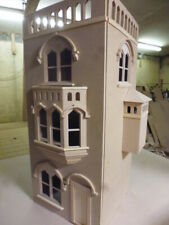 Dolls House 12th Scale The Tower House Kit Mediaeval in Style by DHD