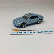 BMW 850i * Blue * Hot Wheels LOOSE * F639