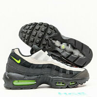 Nike Air Max 95 Essential Men's Running Training Gym Black Green AT9865-004 NIB