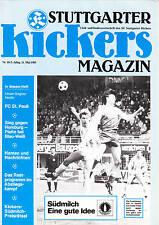 II. BL 84/85 Stuttgarter Kickers - FC St. Pauli, 11.05.85