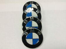 ORIGINALE Set di 4 BMW lega ruota centro HUB CAP 36136783536