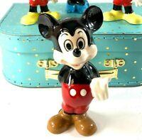 Vintage Walt Disney Mickey Mouse Ceramic Porcelain Figurine, Made in Japan
