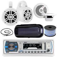 "Bluetooth Single DIN Receiver, 2x Wakeboard Speakers, 6.5"" Speakers, Accessories"