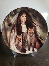 Faithful Fellowship Bradford Exchange Indian Plate Mystic Guardians